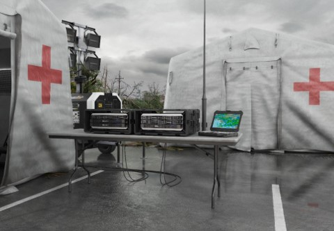 mobile response centers for natural disasters